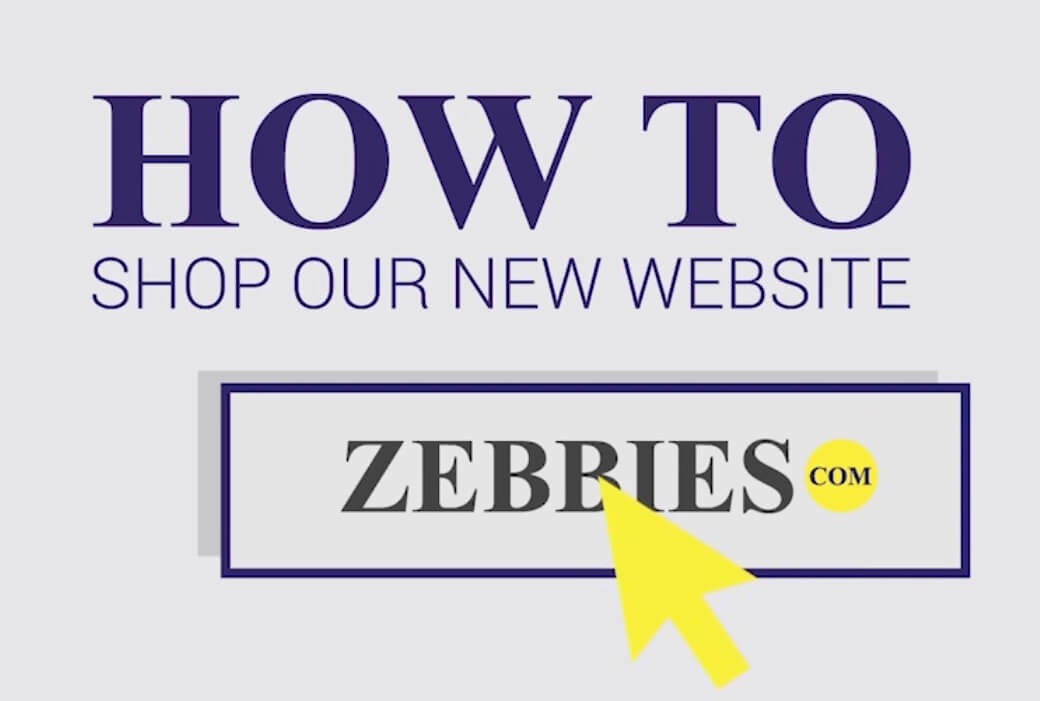 How to shop our new website